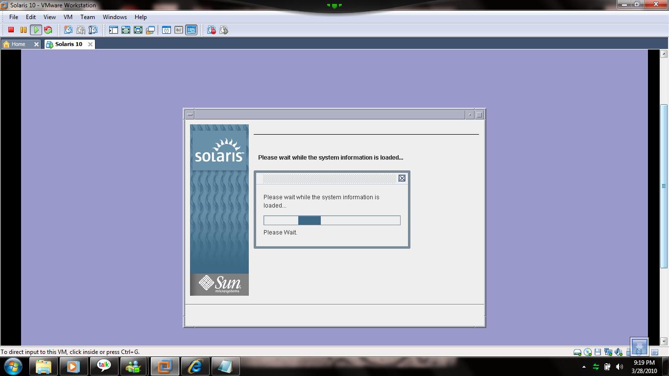 Solaris installation on Vmware | DBA